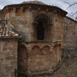 Pino de bureba abside