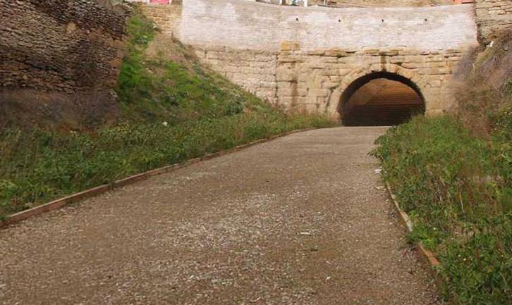 Puentes de san ciprian y san garcia en cerezo de rio tiron
